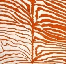 Taupe Zebra Rug Orange Zebra Rug Foter