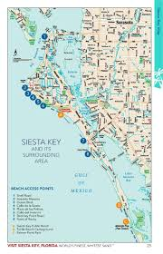 Warren Dunes State Park Map by Siesta Key Visitor Guide Simplebooklet Com