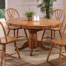 Dinette4less by Chair Mesmerizing Oak Pedestal Dining Table And Chairs Tables