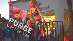 disney world halloween horror nights scare zones the purge at halloween horror nights 2016 universal