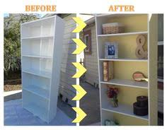 Bookshelf Makeover Ideas Bookshelf Makeover Diy Furniture Pinterest Bookshelf