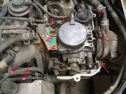 mitsubishi mini truck lifted ha4 carburetor removal japanese mini truck forum