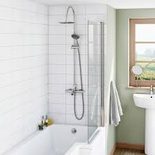 orchard phaze shower bath filler and shower riser rail system