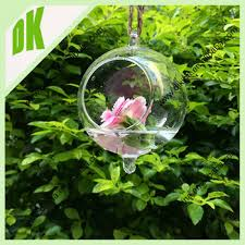 2015 decorative crackle glass balls terrarium stands ball base