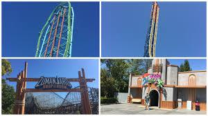 Six Flags Jackson Ride Battle Zumanjaro Drop Of Doom Vs Lex Luthor Drop Of Doom