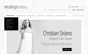 Wedding Boutique Wedding Boutique Opencart Template 39722