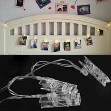 christmas garland battery operated led lights 6m 40 bulbs fairy lights battery operated led clip string lights