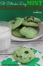 chocolate for s day st s day mint chocolate chip cookies recipe