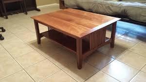 Craftsman Coffee Table Craftsman Coffee Table Build Sapele Woodworking Talk