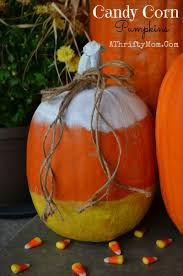 pumpkin candy corn candy corn pumpkin fast and easy way to decorate a pumpkin no