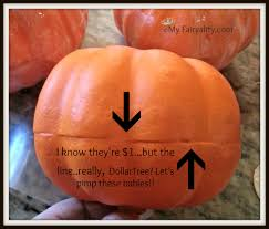 pimp your dollar tree pumpkins my fairyality