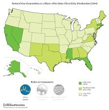 Map Of Nuclear Power Plants In Usa by Rating The States On Their Risk Of Natural Gas Overreliance