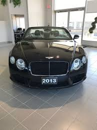 bentley showroom presenting the 2013 bentley continental with 6l w12 engine in our