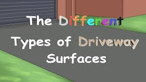 the different types of driveway surfaces youtube