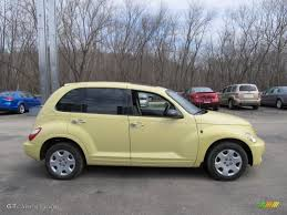 yellow pt cruser2007 pastel yellow 2007 chrysler pt cruiser