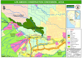 Amazon Basin Map Amazon Conservation Association Our Work Research Los Amigos