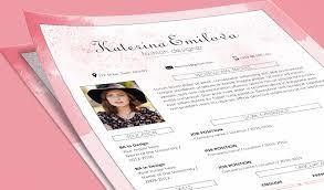 Resume For Fashion Designer Job by Free Resume Cv Design Template For Fashion Designer Psd File