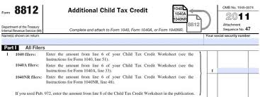 irs child tax credit worksheet free worksheets library download