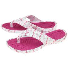 party ribbon pink ribbon party flip flops the breast cancer site