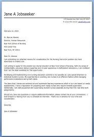 nurse trainer resume cv cover leter