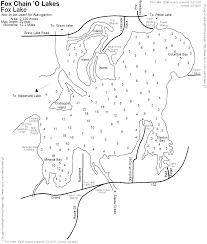 Lake County Illinois Map by Fox Lake Paddling Fishing