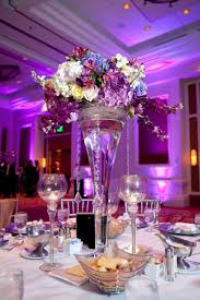 Purple Centerpieces Purple Wedding Centerpiece With Colorful Flowerswedwebtalks