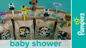 jungle theme baby shower favor ideas homemade trail mix recipe