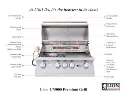 lion l75000 premium 32 u2033 gas grill best of backyard