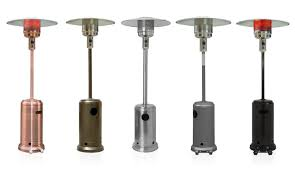 Hiland Tall Outdoor Patio Heater by Outdoor Heater Taking The Chill Off Patio Heaters Energ