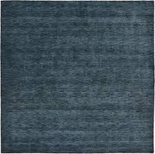 navy blue 300cm x 300cm solid gabbeh square rug oriental rugs