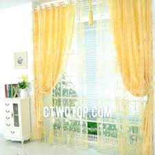 Sheer Elegance Curtains Yellow Sheer Curtains Design Modern Home Interior Designer