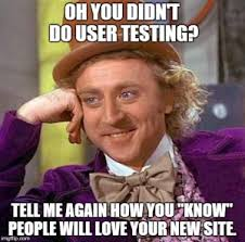 Make A Meme Website - how to make the most of your user testing confluence digital