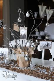 Photo Tree Centerpiece by How To Decorate With Photos For A Milestone Birthday Party