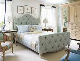 Bed Frame Design Photos Beautiful Rooms In Blue And White Traditional Home