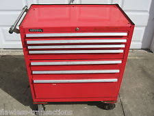 kennedy 8 drawer roller cabinet kennedy 348xr rolling cabinet 34x20x40 in 8 drawer red ebay