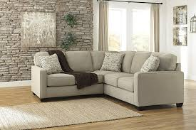 Sectional Sofa Pieces Alenya 16600 55 67 2pc Sectional Sofa With Left