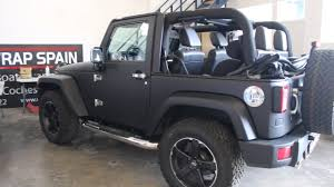 charcoal grey jeep rubicon jeep wrangler vinyl wrap youtube
