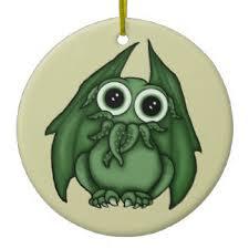cthulhu ornaments keepsake ornaments zazzle