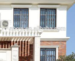 Elegant Window Grill Design