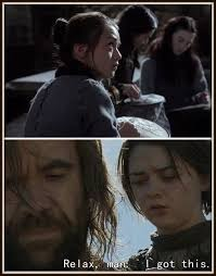 Came Meme - gotmeme finally sewing came in handy gameofthrones arya and hound