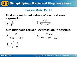 warm up simplify each expression factor the expression ppt