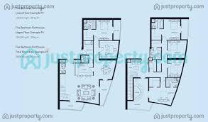marina blue floor plans bay central west tower floor plans justproperty com