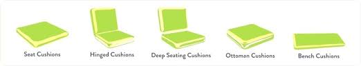 outdoor ottoman cushion replacement sophisticated outdoor ottoman replacement cushions elegant