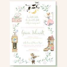 storybook themed baby shower storybook themed baby shower invitations vintage themed ba shower