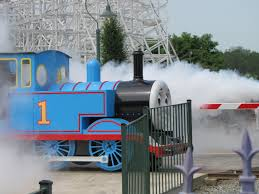 6 Flags Maryland Park Express Train Ride Ride Entertainment