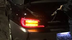 Buddy Club Tail Lights Honda S2000 Mayday Garage Tail Lights Youtube