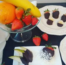 chocolate dipped fruit easy chocolate dipped fruit chef ludwig