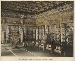 Japanese Temple Interior Book 1898120401 Famous Castles And Temples Of Japan By K Ogawa