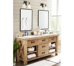 Pottery Barn Bathroom Ideas Langford Cross Handle Widespread Bathroom Faucet Pottery Barn