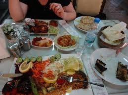 table full of food a table full of delicious food picture of can oba restaurant